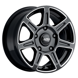 Ultra Wheels Ultra Wheels 450 Toil Van - Gloss Black w/ Milled Accents and Clear Coat