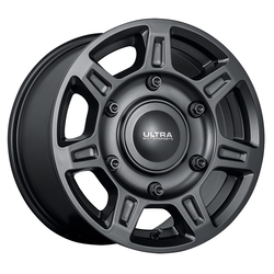 Ultra Wheels Ultra Wheels 450 Super Single - Satin Black with Satin Clear Coat