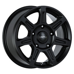 Ultra Wheels Ultra Wheels 450 Toil Van - Satin Black w/ Satin Clear Coat