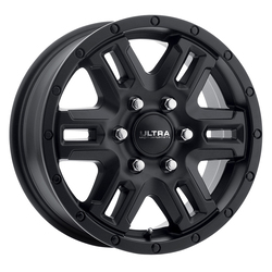 Ultra Wheels 470 Judgement Van - Satin Black and Satin Clear Coat Rim