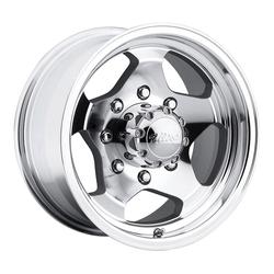 Ultra Wheels 050-051 Type 50 - Machined w/ Clear Coat - 15x7