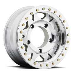 Ultra Wheels 103 Xtreme Wide 5 True Beadlock - Machined W/ Machined Beadlock Rim - 15x6.5
