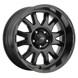 Ultra Wheels Ultra Wheels 108 Xtreme - Satin Black w/ Satin Clear Coat