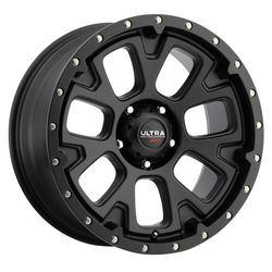 Ultra Wheels Ultra Wheels 109 Xtreme - Satin Black w/ Satin Clear Coat