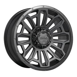Ultra Wheels Ultra Wheels 110 Xtreme - Satin Black w/ Satin Black Lip and Satin Clear Coat
