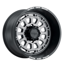 Ultra Wheels Ultra Wheels 111 Xtreme - Satin Graphite / Satin Black Lip
