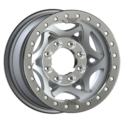 Walker Evans Wheels 500SP True Beadlock - Shot-Peened w/Machined Center/Beadlock Ring - 17x8.5