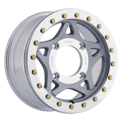 Walker Evans Wheels 500SP UTV True Beadlock - Shot-Peened w/Machined Center & Beadlock Ring - 14x7