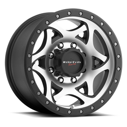 Walker Evans Racing Wheels 501MB Legend - Satin Black with Diamond Cut Face