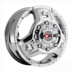 Worx Wheels 801C Triad Dually Front - Chrome