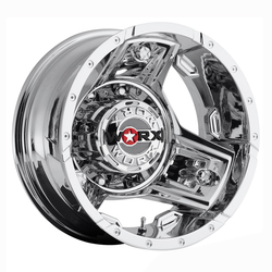 Worx Wheels 801C Triad Dually Rear - Chrome