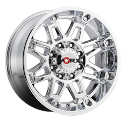 Worx Wheels 811C Conquest - Chrome Plated