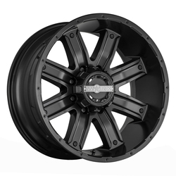 Worx Wheels 813SB Destroyer - Satin Black