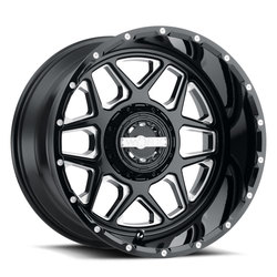 Worx Wheels Fallout 815 - Gloss Black with Milled Accents