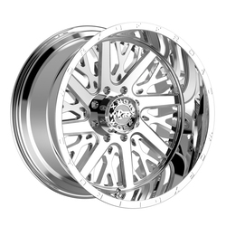Worx Wheels 816C Overtime - Chrome Rim - 22x12
