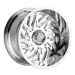 Worx Wheels 817C Carnage - Chrome Rim - 22x12