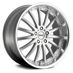 Advanti Wheels Afoso - Flash Silver / Mirror Face Polish Rim
