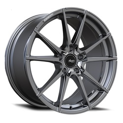 Advanti Wheels Appello - Gloss Graphite W/ Machine Cut Rim