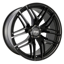 Advanti Wheels Bello - Matte Black Undercut Rim
