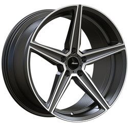 Advanti Wheels Cammino - Matte Grey Machine Face Rim