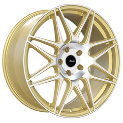 Advanti Wheels Classe - Gold Machine Face - 18x8