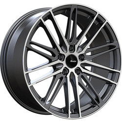 Advanti Wheels Diviso - Matte Black Machine Face Rim