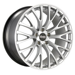 Advanti Wheels Fastoso - Silver / Machine Undercut Rim