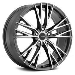 Advanti Wheels Forchette - Matte Black Machine Face Rim