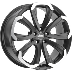 Advanti Wheels Forza - Matte Black Machined Face Rim