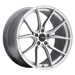 Advanti Wheels Hybris - Machine Face Silver Rim