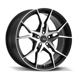 Advanti Wheels Hydra - Matte Black Face Cut Rim