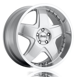 Advanti Wheels Martelo - Flash Silver / Mirror Polish Lip
