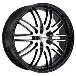 Advanti Wheels Prodigo - Black/Machine Spoke Rim