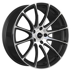 Advanti Wheels Svelto - Matte Black Machine Face Rim