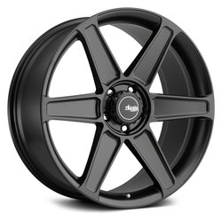 Advanti Wheels Woodward - Matte Black Rim