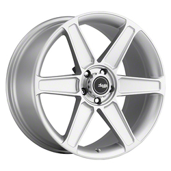 Advanti Wheels Woodward - Silver Rim