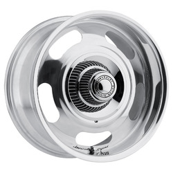 American Legend Wheels Cruiser - Polished Rim - 18x7