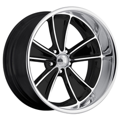 Boyd Coddington Wheels Speedster - Gloss Black / Machined Face / Diamond Lip Rim - 18x7