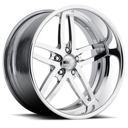 Boyd Coddington Wheels Blaster - Polished Rim - 17x10