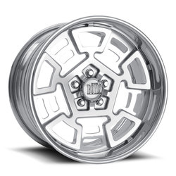 Boyd Coddington Wheels Campi - Polished Rim - 24x15