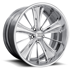 Boyd Coddington Wheels Double 5 - Polished - 22x14