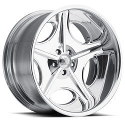 Boyd Coddington Wheels Duel - Polished Rim - 24x15