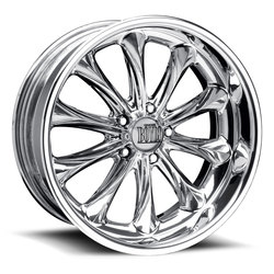 Boyd Coddington Wheels Excaliber - Polished Rim - 19x12