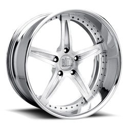 Boyd Coddington Wheels F-09 - Polished Rim - 17x10