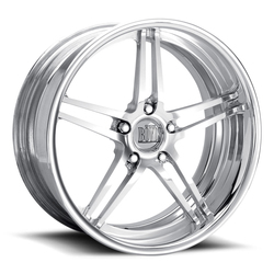 Boyd Coddington Wheels F22 - Polished Rim - 17x10