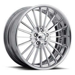 Boyd Coddington Wheels Forged Wire - Polished Rim - 19x12