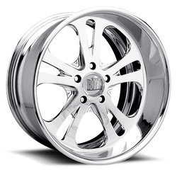 Boyd Coddington Wheels Fury - Polished Rim - 17x10