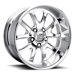 Boyd Coddington Wheels GT - Polished Rim - 17x10
