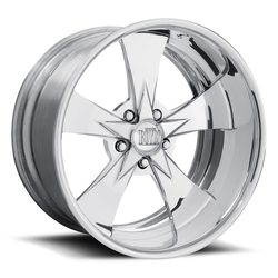 Boyd Coddington Wheels Hot Rod - Polished - 15x3.5