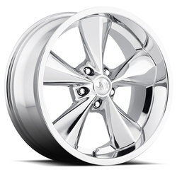Boyd Coddington Wheels Billet Junkyard Dog - Polished - 24x9